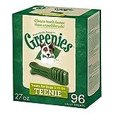 GREENIES Dental Dog Treats, Teenie, Original Flavor, 96 Treats, 27 oz.