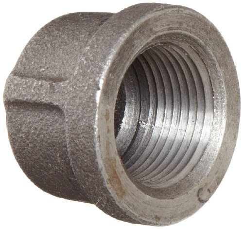 Anvil malleable iron pipe fitting class cap npt