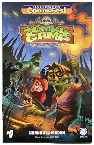 (ZOMBIE CAMP #0, Halloween Comicfest, 2016, NM, Ashcan, Walking Dead,)