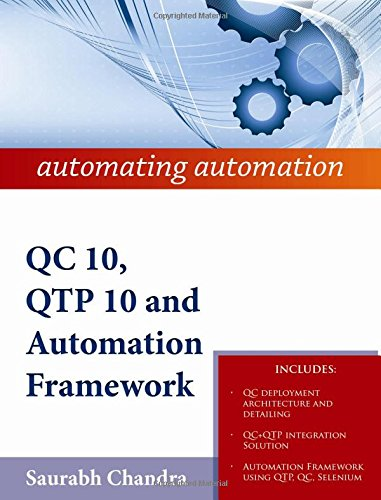 QC 10, QTP 10 and Automation Framework: automating automation PDF
