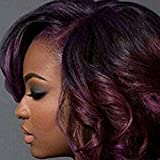 Black Friday Deals 2017 Bob Peruvian Loose Wave 4 Bundles 200g Wholesale Lots 12 Color Ombre Weave Spring Curly Wet And Wavy Human Hair Extensions (T1B/99J)