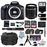 Cheap Canon EOS Rebel T6 Bundle With EF-S 18-55mm f/3.5-5.6 IS II Lens + Advanced Accessory Kit – Including EVERYTHING You Need To Get Started