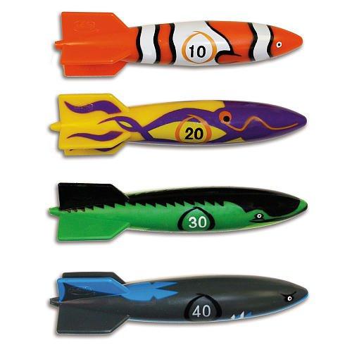 SwimWays Toypedo Bandit Rocket Dive Water Pool Game Toys-...