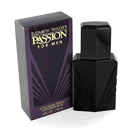 Elizabeth Taylor Passion 4 oz Cologne Spray For - Mens Cologne Passion