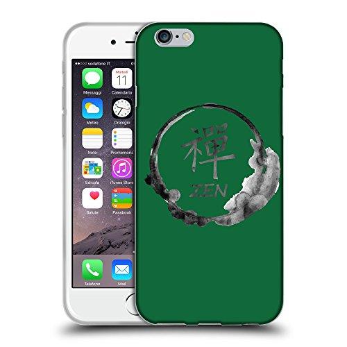 """GoGoMobile Coque de Protection TPU Silicone Case pour // Q07670622 Bouddha 2 Cadmium vert // Apple iPhone 6 PLUS 5.5"""""""