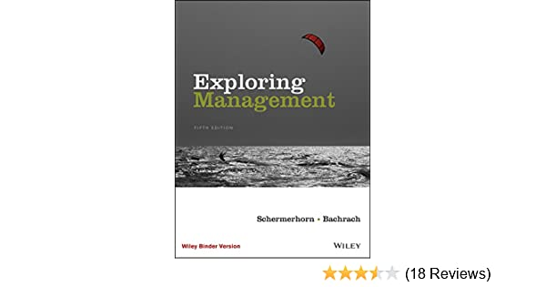 amazon com exploring management 5th edition ebook john r
