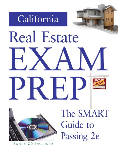 California Real Estate Prep  (Preparation Guide w/ CD) (California Real Estate Broker Exam Study Guide)