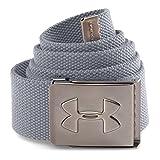 Under Armour Men's Webbed Belt, Steel/Steel, One Size