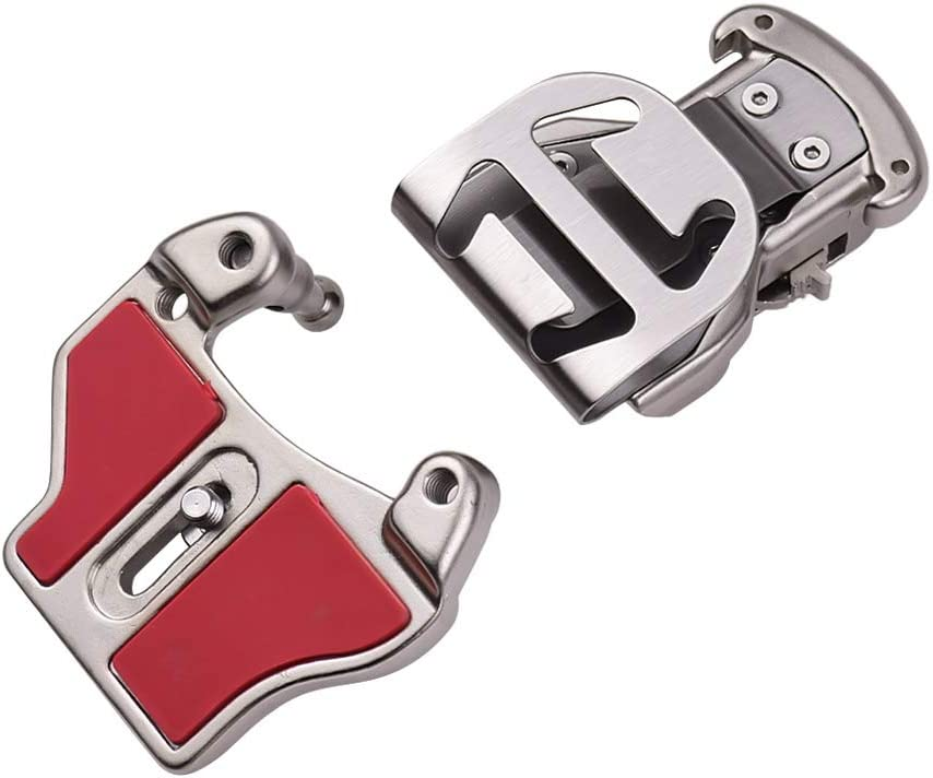 Leepesx Aluminium Alloy Camera Waist Belt Mount Button Buckle Hanger for DSLR Camera Waistband Belt Strap Mount