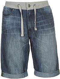 Mens Casual Turned Up Hems Denim Shorts Pants Bottoms