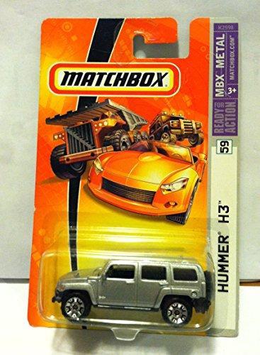 Matchbox Silver Hummer H3 Mbx Metal 59 2006