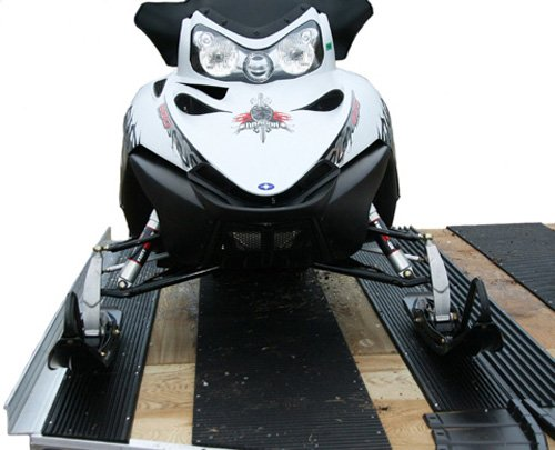 Caliber 13320 LowPro Glides Snowmobile Trailer Loading System (Double Set) by Caliber