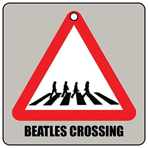 Beatles Crossing Car Air Freshener (Xmas Christmas Stocking Filler/Secret Santa Gift) AAF