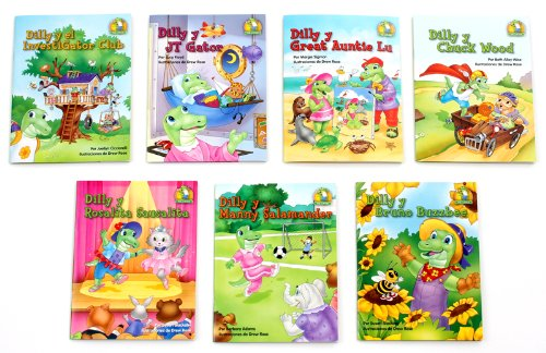 Read Online Dilly and Friends Lapbooks - Spanish (Set of 7) pdf epub