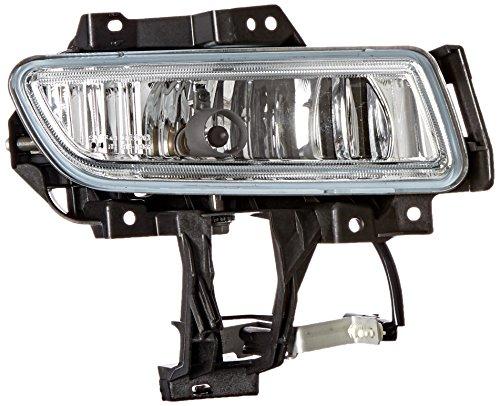 OE Replacement Mazda Mazda3 Passenger Side Fog Light Assembly (Partslink Number MA2593112)