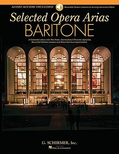 Selected Opera Arias Baritone Edition (Tapa Blanda)
