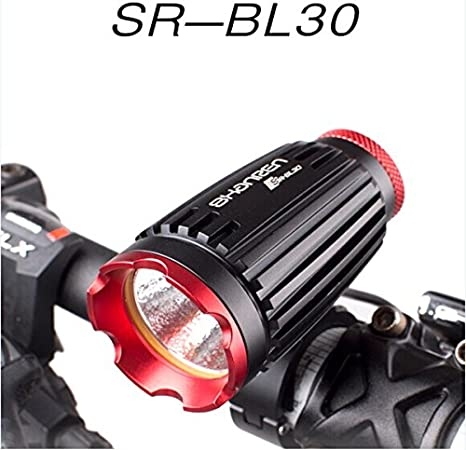SHANREN Super Bright 8w 1044LM LED Bicycle Light Cree MK-R Mobile Power Bank 10400mAh led Bike Light Battery for Cycling Red