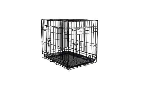 IBAÑEZ Jaula para Perros Plegables 2019 (109 x 71 x 79* (alt ...