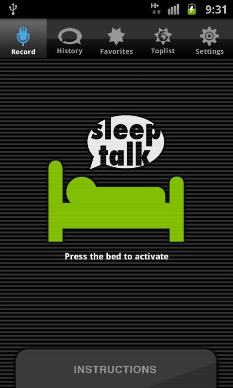 sleep talking app android