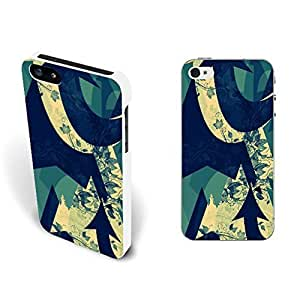 Retro Arrow Floral Pattern Hard Pretective Case Cover for Iphone 5 5s