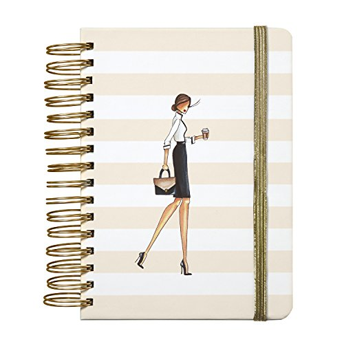 "C.R. Gibson 3-in-1 Journal, By Winks, Includes 3 different types of pages throughout, Measures 6.25"" x 8.3"" - Fashionista"