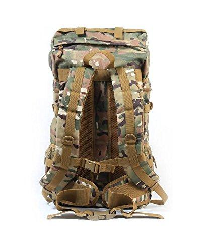 YYY-Nuevo día mochila mediana hombres y mujeres viaje viaje mochila al aire libre equipaje bolsa camuflaje Mochila militar fans pack capacidad 50l , acu camouflage 1