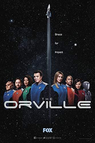"THE ORVILLE - 11""x17"" Original Promo TV Poster SDCC 2019 Fox Comic Con"