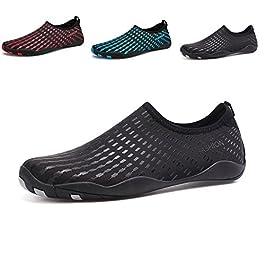 Chaussures Aquatiques Homme Femme Chaussures de Plage