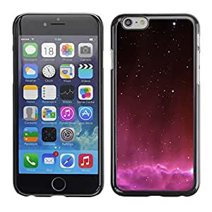 Planetar® ( Falling Pink Skies ) Apple (5.5 inches!!!) iPhone 6+ Plus / 6S+ Plus Fundas Cover Cubre Hard Case Cover