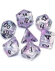 HD DICE DND Polyhedral Dobbelstenen voor kerkers en draken (D & D), RPG, Pathfinder, MTG, Rollenspelletjes dobbelstenen