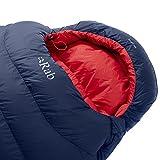 RAB Ascent 500 Sleeping Bag - Men's Ink Left Zip