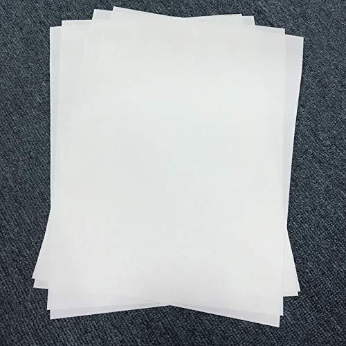 Printer Parts 100 Sheets for Sublimation Machine Heat Transfer Machine T-Shirt Clothes germent Cotton A4 Sublimation Paper Light Color by Yoton (Image #1)