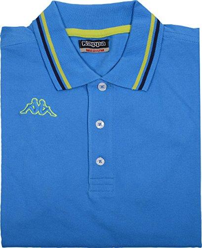 Kappa Poloshirt Maltax, blau, Gr. M - XXL