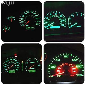 T5/LED Lampadina lampada 74/2721/Canbus PC74/Twist lock cuneo 3030/chip Automotive Dash /& strumentazione luci lampadine 7/colori bianco rosso blu ghiaccio blu, verde, giallo, rosa