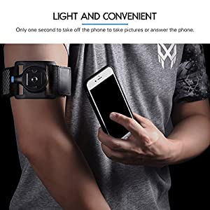 Professional Universal Smart Armband for Cellphone and Mp3 Mp4 Fits All Brand Case Sports Running Workouts Armband for iPhone Samsung Galaxy Htc Huawei Lg Motorola Google Nexus Lenovo Nokia - Black