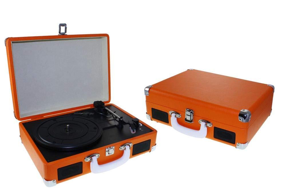 Dorex 7983 - Tocadiscos, Color Naranja: Amazon.es: Electrónica