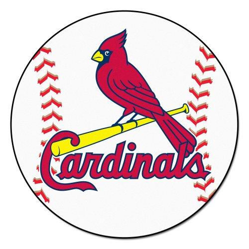 Louis Carpet Mlb Cardinals (FANMATS MLB St Louis Cardinals Nylon Face Baseball Rug)