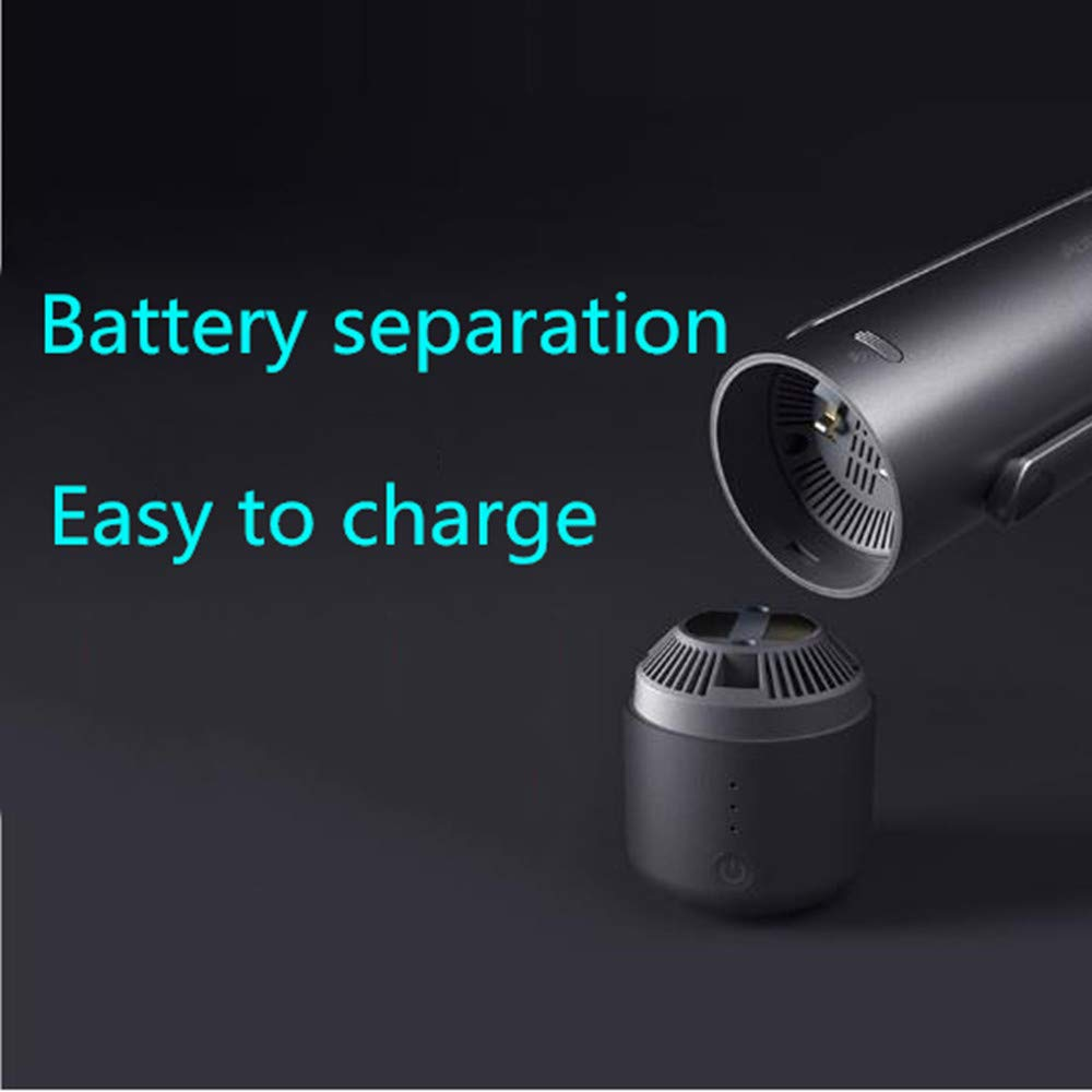 LAIER Car Wireless high Power Vacuum Cleaner Mini Home car Rechargeable Smart car Vacuum Cleaner by LAIER (Image #2)