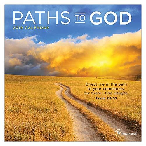 Paths to God - 2019 Mini Wall Calendar - 7x7