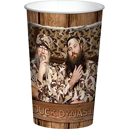 Duck Dynasty Robertson Men Keepsake 22oz Cups (2ct)