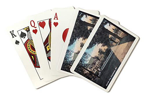 Binghamton  New York   Residential Scene On Riverside Drive  Playing Card Deck   52 Card Poker Size With Jokers