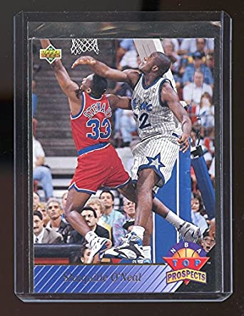 1992 93 Upper Deck Top Prospects 474 Shaquille Oneal