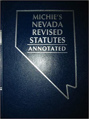 Nevada Revised Statutes >> Michie S Nevada Revised Statutes Annotated Chapters 78 92a