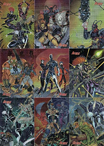 WILDSTORM ARCHIVES 2 II 1996 WILDSTORM COMPLETE CHROMIUM BASE CARD SET OF 99 - Book Archive 2 Music