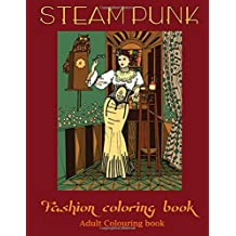 adult coloring books: steampunk coloring book(adult colouring books, adult colouring book for ladies, adult coloring pages)