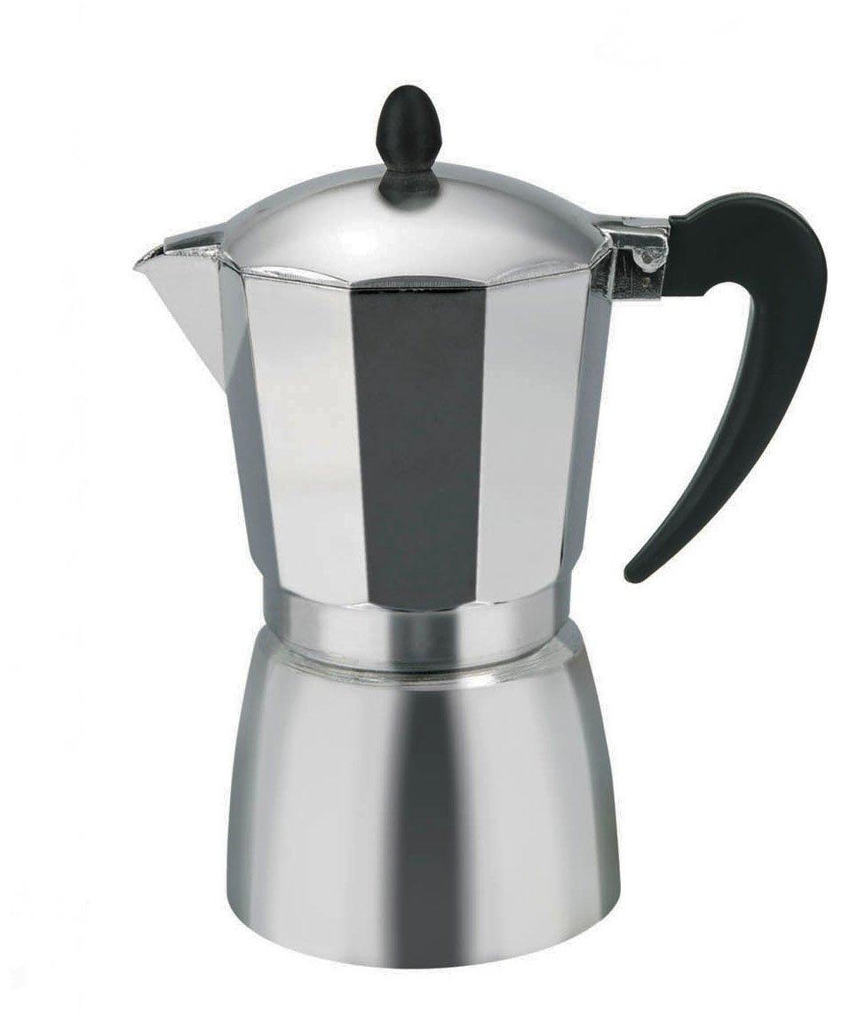 Borella Haushaltsprodukte BETA Espressokocher, Aluminium, Grau