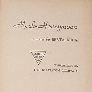 Hardcover Mock-Honeymoon Book