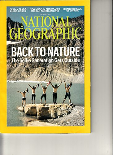 National Geographic magazine October 2016