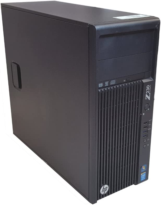 HP Z230 Tower Workstation Gaming Computer Intel Core i7-4790, 16GB DDR3 RAM, 256GB SSD & 2TB HDD, USB 3.0, NVIDIA GeForce GTX 750 Ti 2GB, Mini HDMI, DVI, WiFi + BT 4.0 - Windows 10 Home (Renewed)