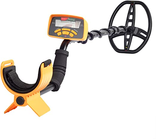 SHUOGOU MD-6350 Detector de Metales Profesional de Alta Sensibilidad-Treasure Hunter Resistente al agua Bobina de Pantalla LCD-Detecta todos los Metales- Ajustable Tallo: Amazon.es: Jardín